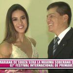 Mariana De Souza será la soberana del 67° Festival Internacional de Primavera