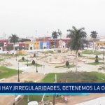 "Trujillo: ""Si hay irregularidades, detenemos la obra en la Plaza Mayor"""