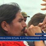Magdalena de Cao: Realizan ritual a la Pachamama en complejo arqueológico El Brujo