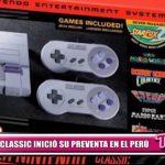 SNES Classic inició su preventa en el Perú
