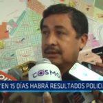"""Nuevo jefe PNP: """"En 15 días habrán resultados policiales"""""""