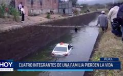Piura: Cuatro integrantes de una familia perdieron la vida