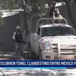 Descubren túnel clandestino entre México y EE.UU.