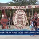 Chimbote: Ofertaban maestrías sin autorización