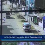 Laredo: Pondrán energía en cámaras de vigilancia