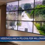 Laredo: Videovigilancia peligra debido a millonaria deuda con Hidrandina