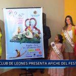 Club de Leones presenta afiche del Festival de Primavera