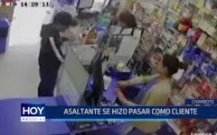 Chimbote: Asaltante se hizo pasar como cliente