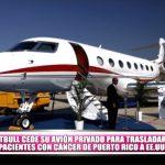 Pitbull cede su avión privado para trasladar pacientes con cáncer de Puerto Rico a EE.UU.
