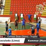 Ganó Inmaculada de Lima  85 a  82 a Xammar de Huacho