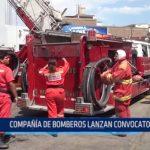 Compañía de bomberos lanza convocatoria 2017 para voluntarios