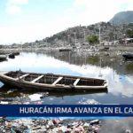 Huracán Irma avanza en el Caribe