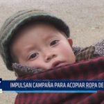 Impulsan campaña para acopiar ropa de abrigo