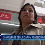 250 mujeres denunciaron agresión de sus parejas