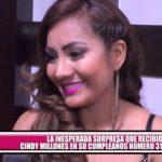 La inesperada sorpresa que recibió Cindy Millones en De Pe a Pa por su cumpleaños