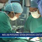 Cirugía reconstructiva: Más de 200 personas serán operadas gratuitamente