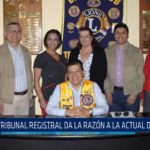 Club de Leones: Tribunal Registral da la razón a la actual directiva