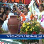 Tv Cosmos y la fiesta de las flores