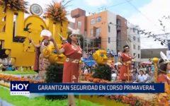 Trujillo: Garantizan seguridad durante Corso Primaveral