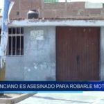 Pimentel: Anciano es asesinado para robarle sus mototaxis