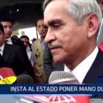 Piura: Duberlí Rodríguez insta al Estado Peruano a poner mano dura