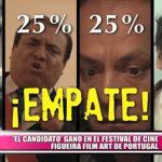 """El candidato"" ganó en el festival de cine Figueira Film Art de Portugal"
