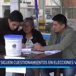 Siguen cuestionamientos en elecciones vecinales