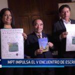 Municipalidad Provincial de Trujillo impulsa el Quinto Encuentro de Escritores