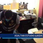 Chiclayo: Asaltan estudio jurídico