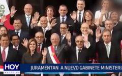 Lima: Juramentan a nuevo Gabinete Ministerial