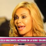 Gisela Valcárcel actuará en «Colorina»
