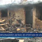 Florencia de Mora: Extorsionadores detrás de atentado en vivienda