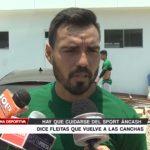 """Leandro Fleitas: """"Hay que cuidarse del Sport Áncash"""""""