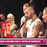 """YouTube premió a Maluma con el """"Botón de Diamante"""""""