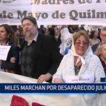 Argentina: Miles marchan por desaparecido Julio López