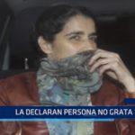 Casma declara persona no grata a Maritza Garrido Lecca
