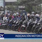 La Libertad: Motociclistas protestan contra proyecto de ley