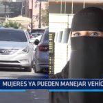 Arabia Saudí: Mujeres ya pueden manejar vehículos
