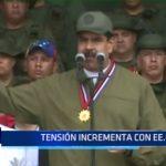 Venezuela: Se incrementa tensión con EE.UU.
