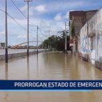 Piura: Prorrogan estado de emergencia