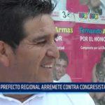 La Libertad: Prefecto regional arremete contra congresista Bartra