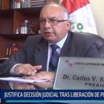 Áncash: Justifica decisión judicial tras liberación de policía agresor