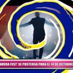 """""""Primavera Fest"""" se posterga para el 14 de octubre"""