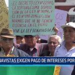 Fonavistas exigen pago de intereses por aportes
