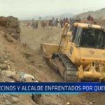 Vecinos de El Milagro y alcalde de Huanchaco enfrentados por quebrada El León