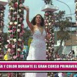 Alegría y color durante el gran Corso Primaveral en Trujillo