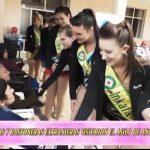 """Reinas y bastoneras visitaron el asilo de ancianos """"San José"""""""