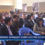 Superintendencia de Bienes Nacionales brinda seminario sobre gestión estatal