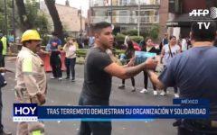 México: Tras terremoto demuestran su organización y solidaridad