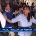 Luis Valdez respalda a su asesora Tania Baca